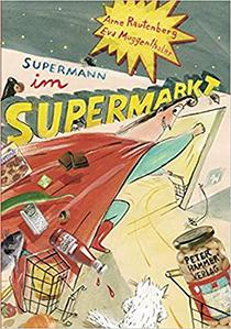 Supermann im Supermarkt