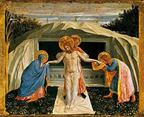 Grablegung Christi, 1438/40