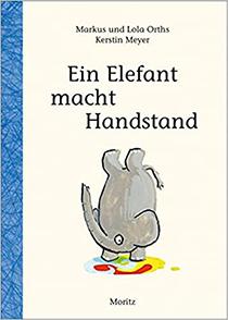 Ein Elefant macht Handstand: