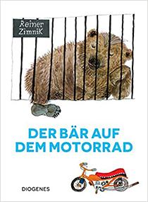 Der Bär auf dem Motorrad: