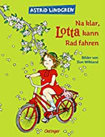 Na klar, Lotta kann Rad fahren: